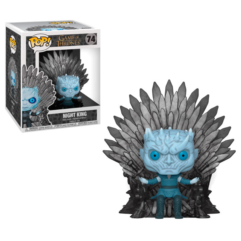 Figura POP Juego de Tronos Night King Sitting on Throne