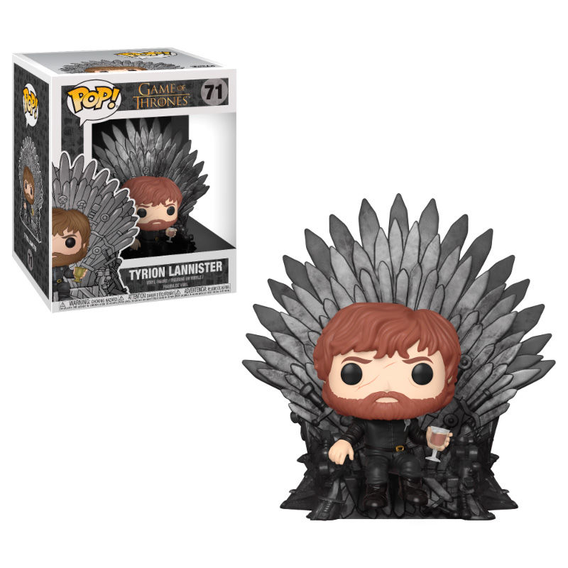 Funko POP o Figura POP Juego de Tronos Tyrion Sitting on Throne
