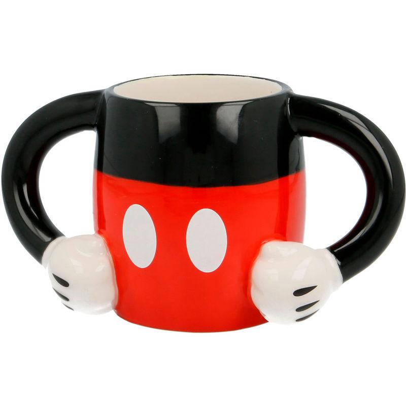 Taza 3D Cuerpo Mickey Disney 8412497957835