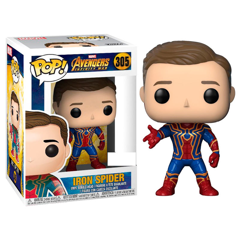 Funko POP o Figura POP Marvel Avengers Infinity Iron Spiderman Exclusive