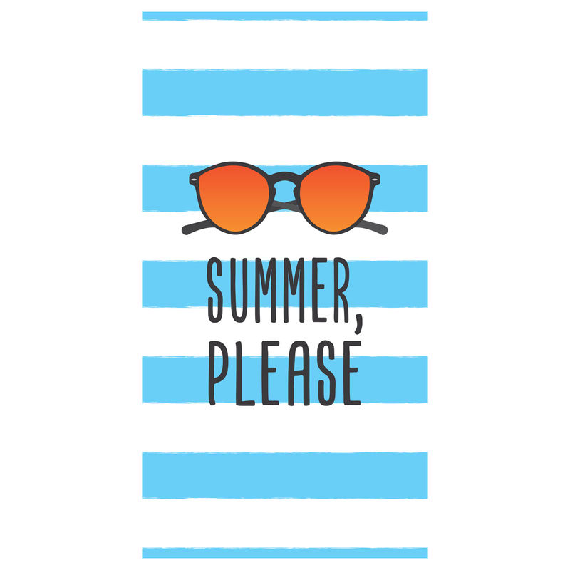 Toalla Summer Please microfibra 8436583370155
