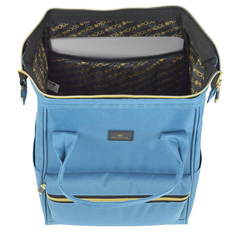 Mochila portatil Moos Blue 40cm