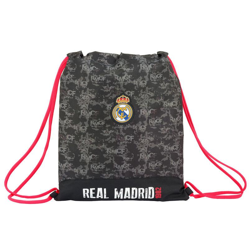 Saco Real Madrid Black 40cm