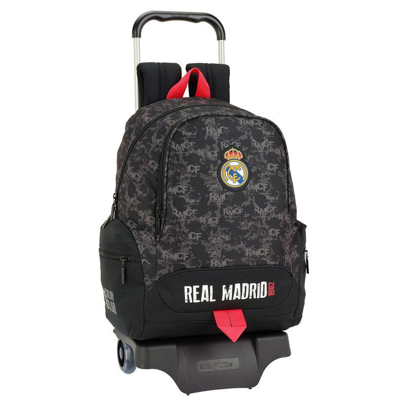Trolley Real Madrid Black 43cm