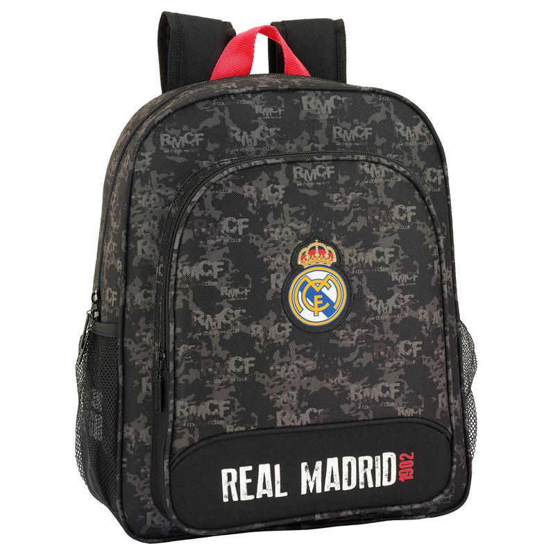 Mochila Real Madrid Black adaptable 38cm
