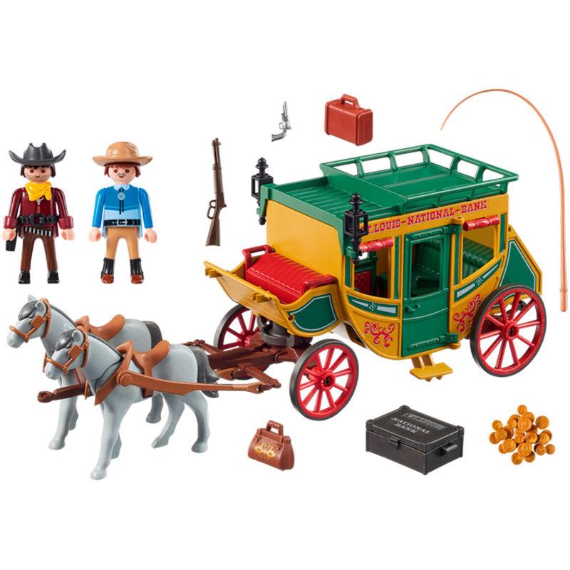 Diligencia Playmobil lejano Oeste (2)