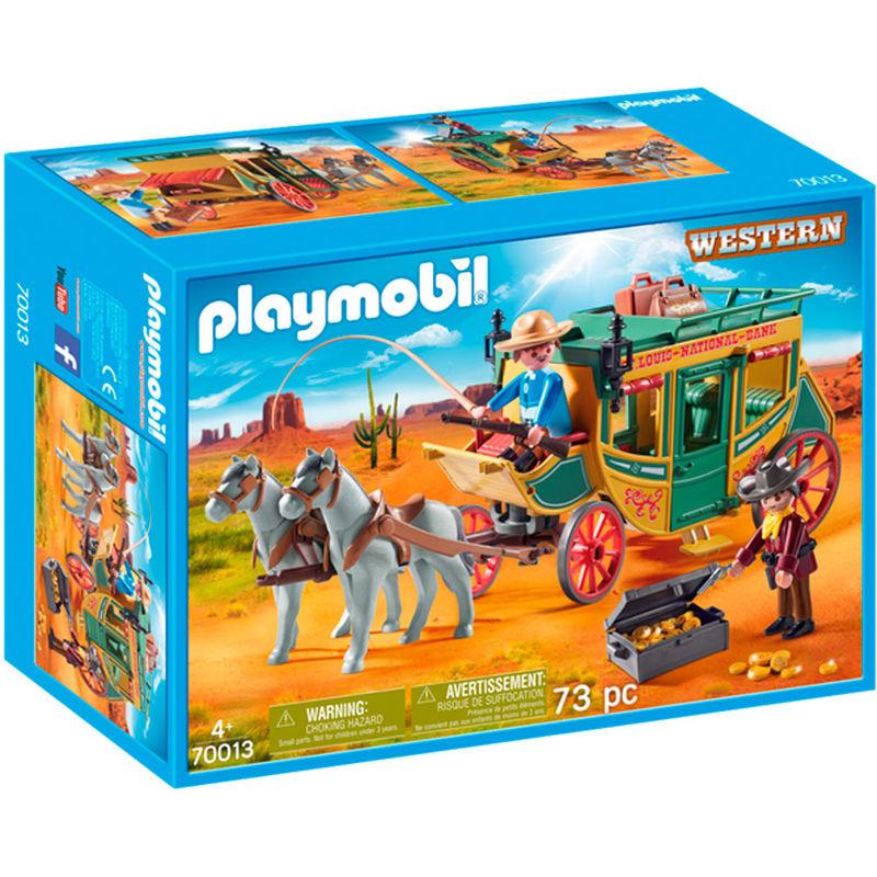 Diligencia Playmobil lejano Oeste