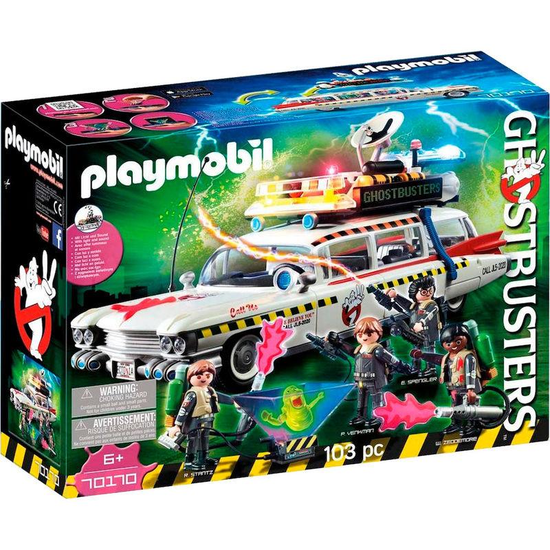 Playmobil Cazafantasmas Ecto 1A