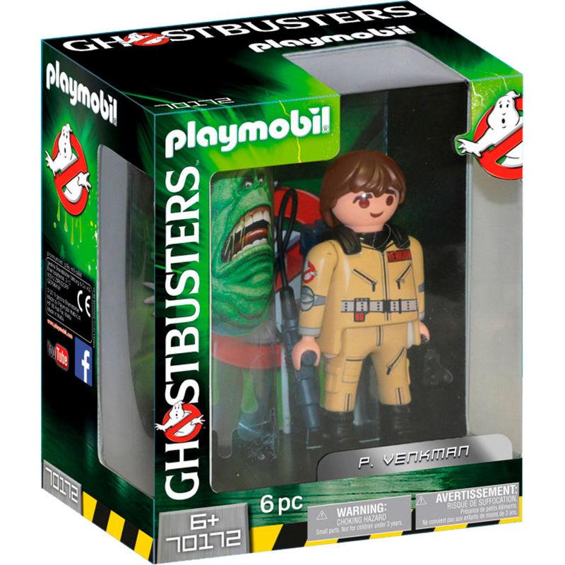 Figura Coleccionable P. Venkman Cazafantasmas Ghostbusters Playmobil