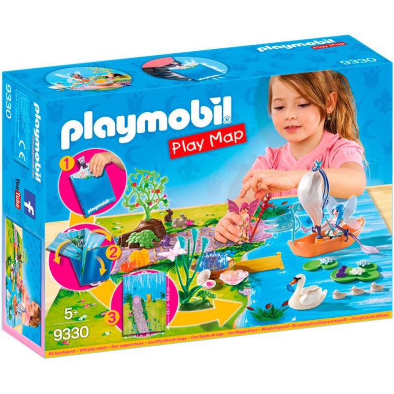 Play Map Hadas de Jardin Playmobil