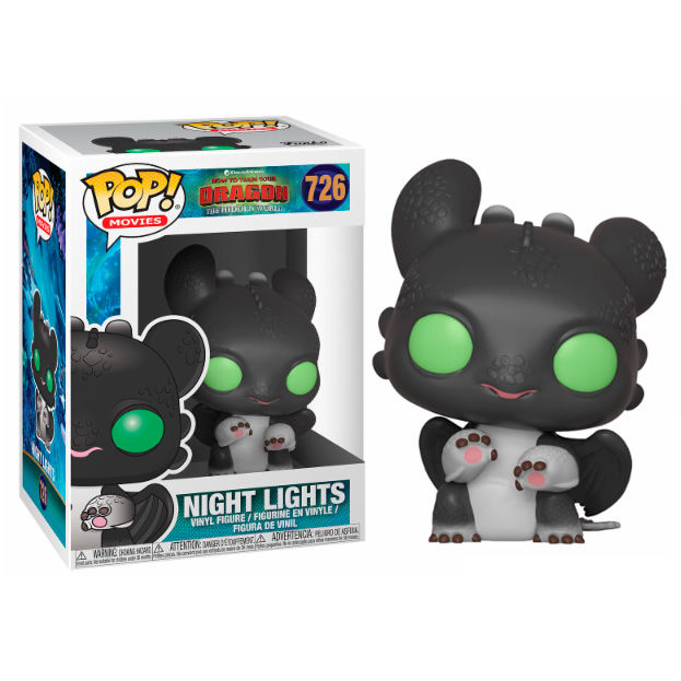 Figura POP How to Train your Dragon 3 Night Lights Allison