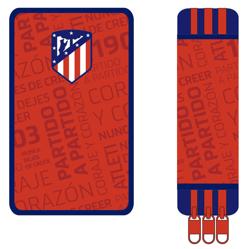 Plumier Atletico Madrid triple 8426842075853