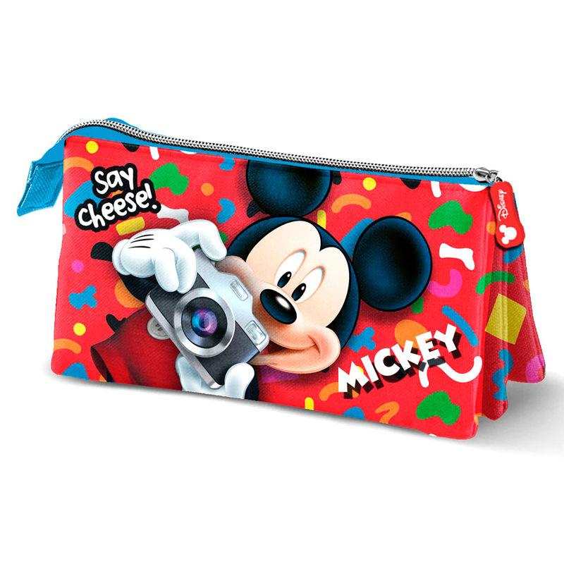 Portatodo Mickey Disney Say Cheese triple
