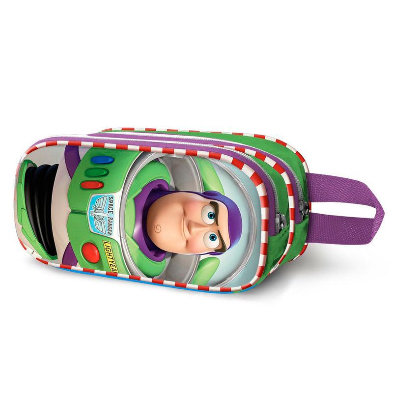 Portatodo 3D Toy Story Buzz Lightyear Disney Pixar doble