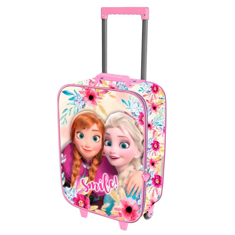 Maleta trolley 3D Frozen Disney Smile 2r 52cm