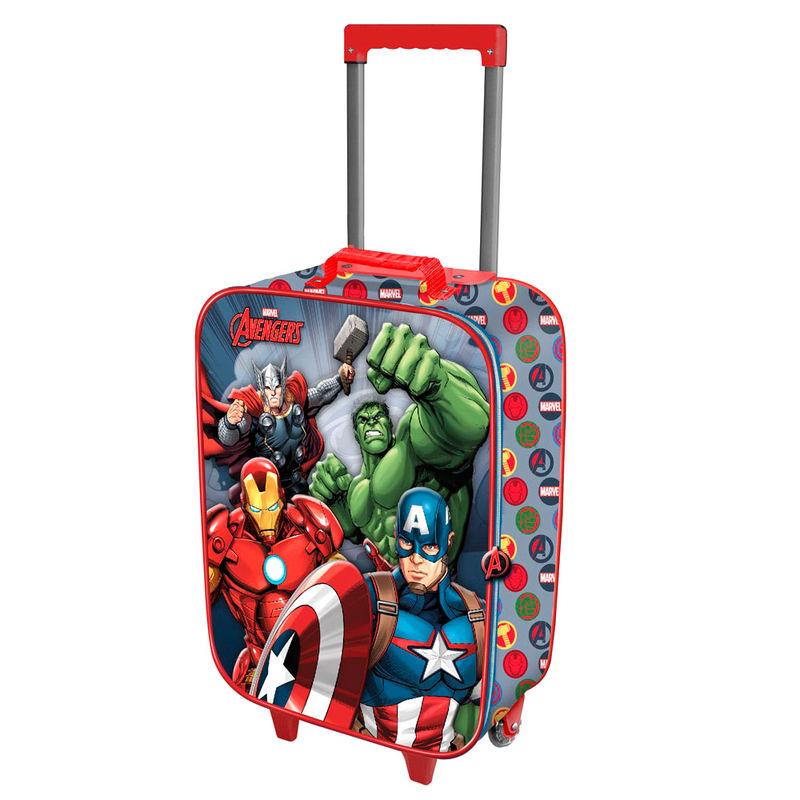 Maleta trolley 3D Vengadores Avengers Marvel 2r 52cm