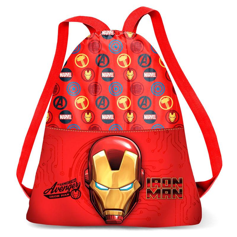 Saco Iron Man Marvel 41cm