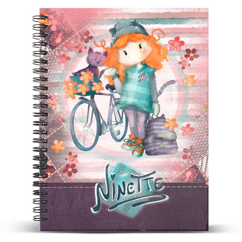 Cuaderno A5 Ninette Bicycle