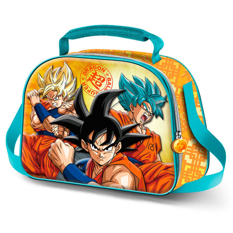 Bolsa portameriendas 3D Dragon Ball Sayan