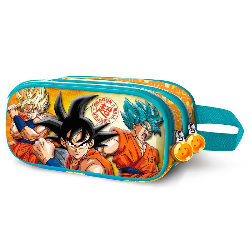 Portatodo 3D Dragon Ball Sayan doble