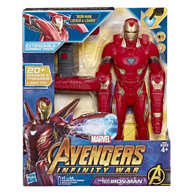 Figura Iron Man Avengers Infinity War Marvel