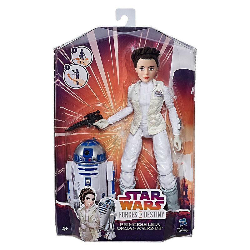 Figura Princesa Leia y R2D2 Star Wars
