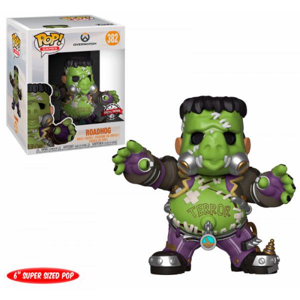 Figura POP Overwatch Roadhog Junkensteins Monster Exclusive 15cm