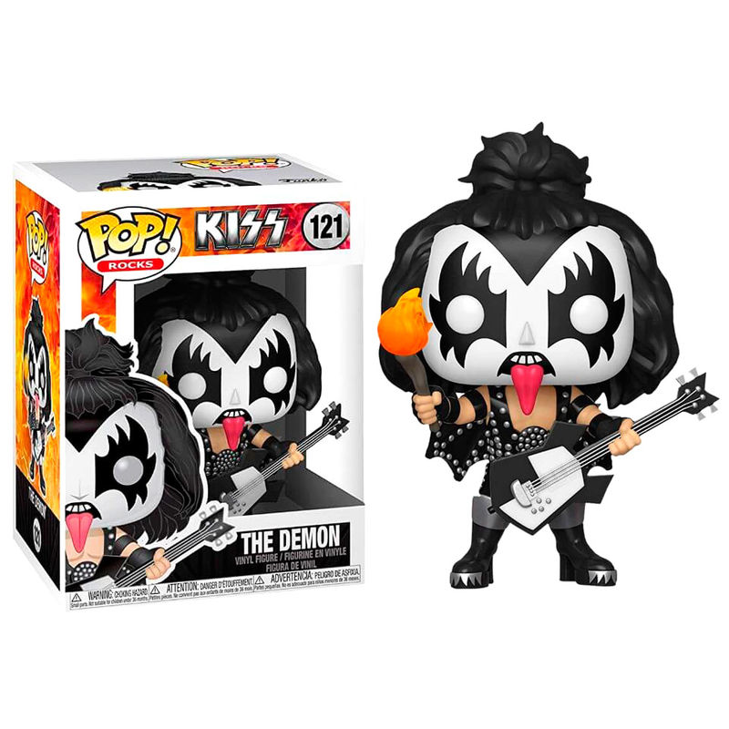 Pre-pedido Funko POP o Figura POP KISS The Demon