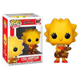 Funko POP o Figura POP Simpsons Lisa