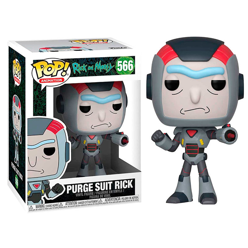 Figura POP Rick & Morty Purge Suit Rick serie 6