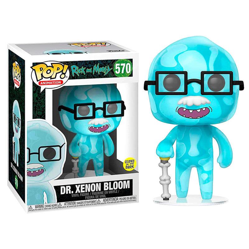 Figura POP Rick & Morty Dr. Xenon Bloom serie 6