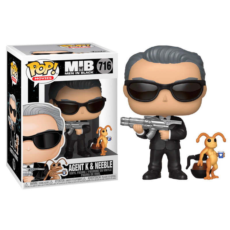 Figura POP Men In Black Agent K & Neeble