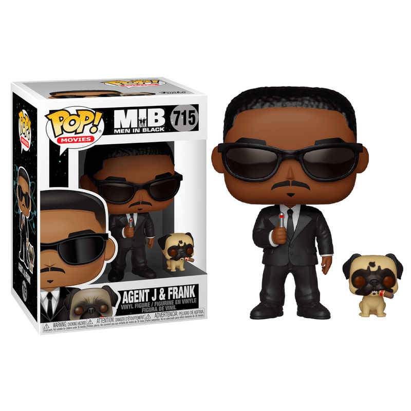 Figura POP Men In Black Agent J & Frank