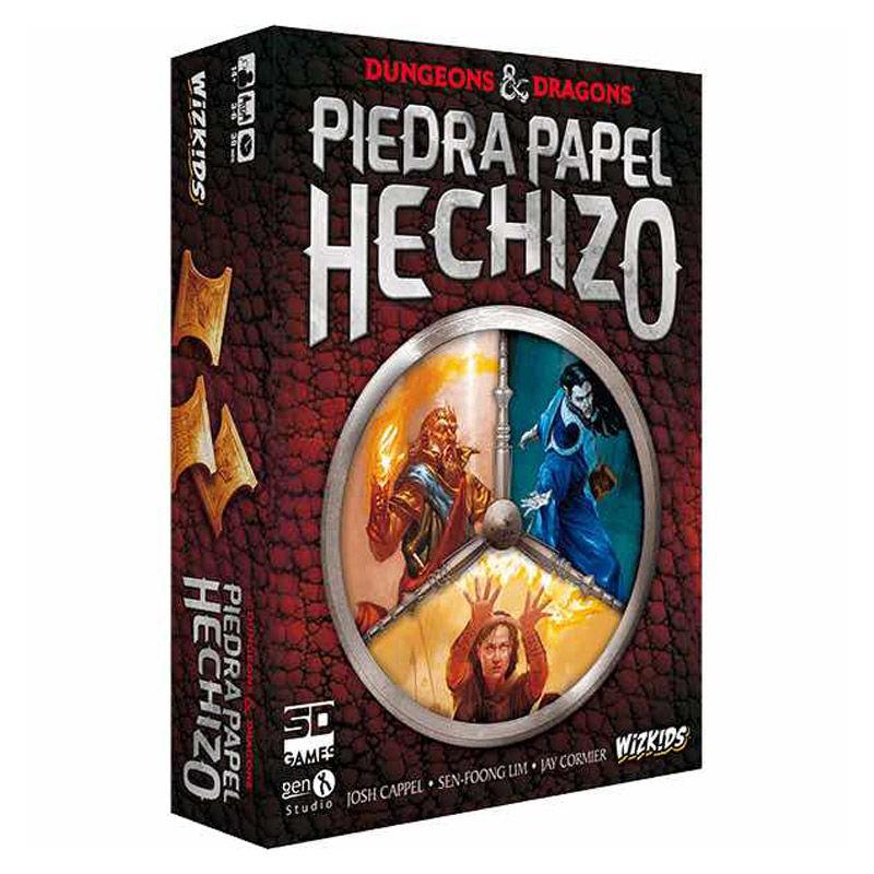 Dungeons and Dragons Piedra Papel Hechizo spanish board