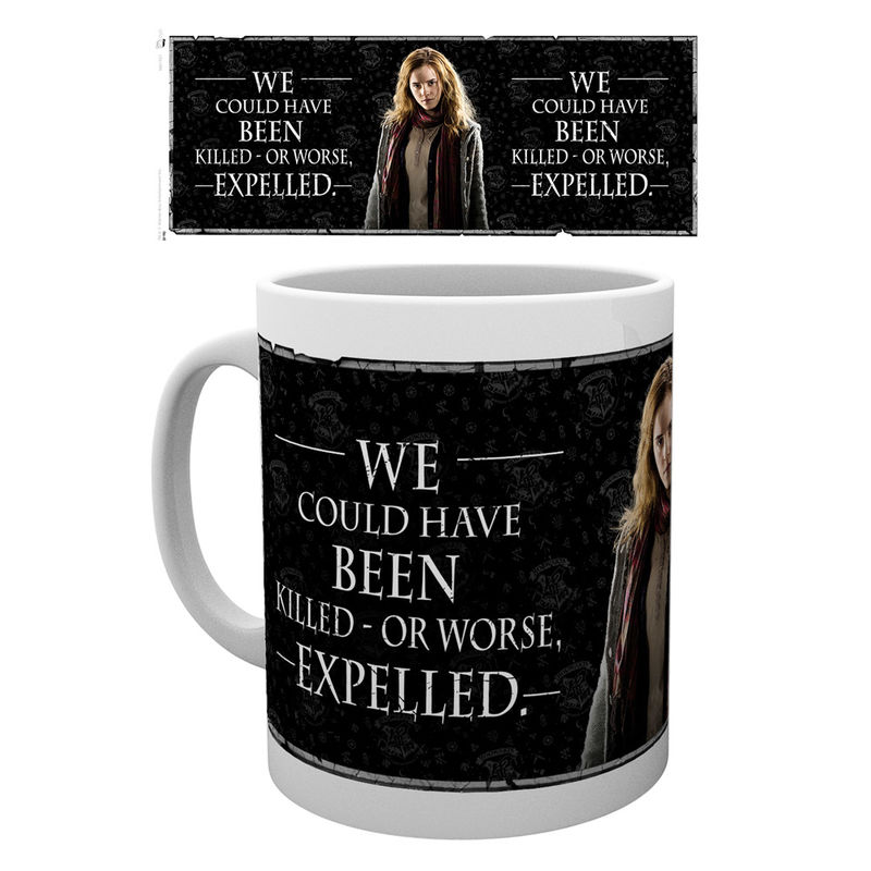 Taza Harry Potter Hermione Quote