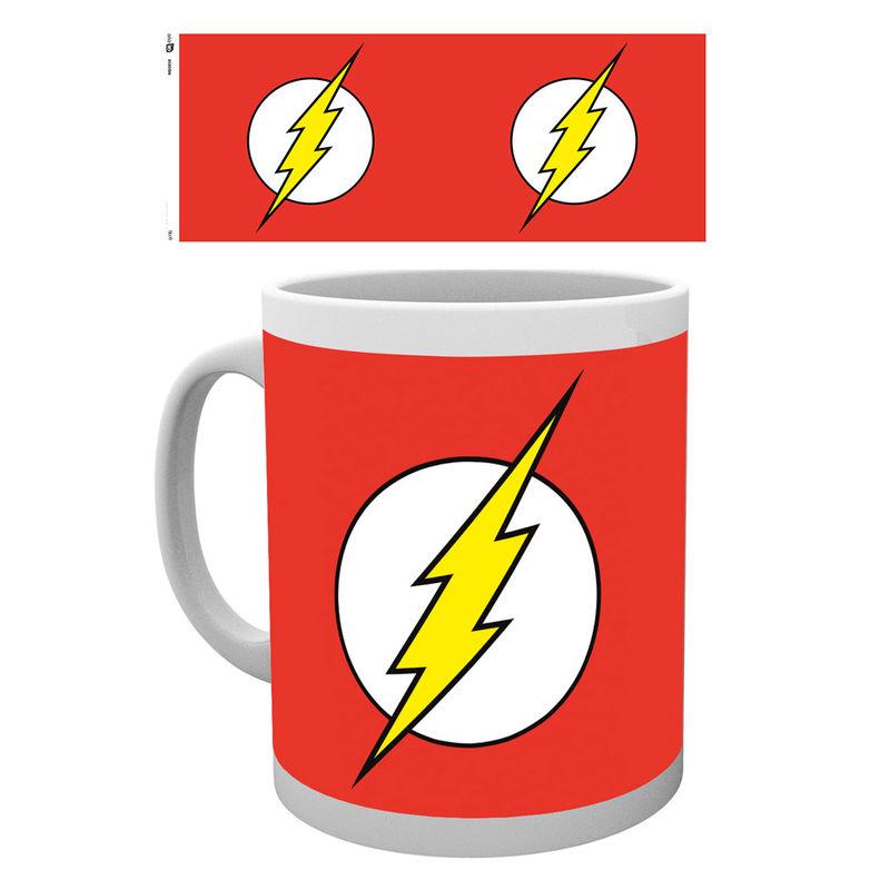 Taza logo The Flash DC