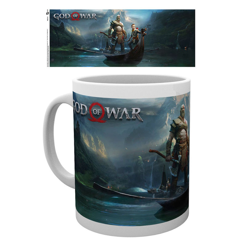Taza God Of War Key Art