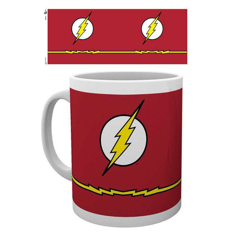 Taza The Flash Costume DC