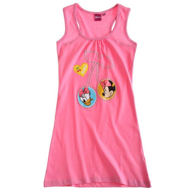Vestido rosa Daisy y Minnie Mouse Disney - OcioStock