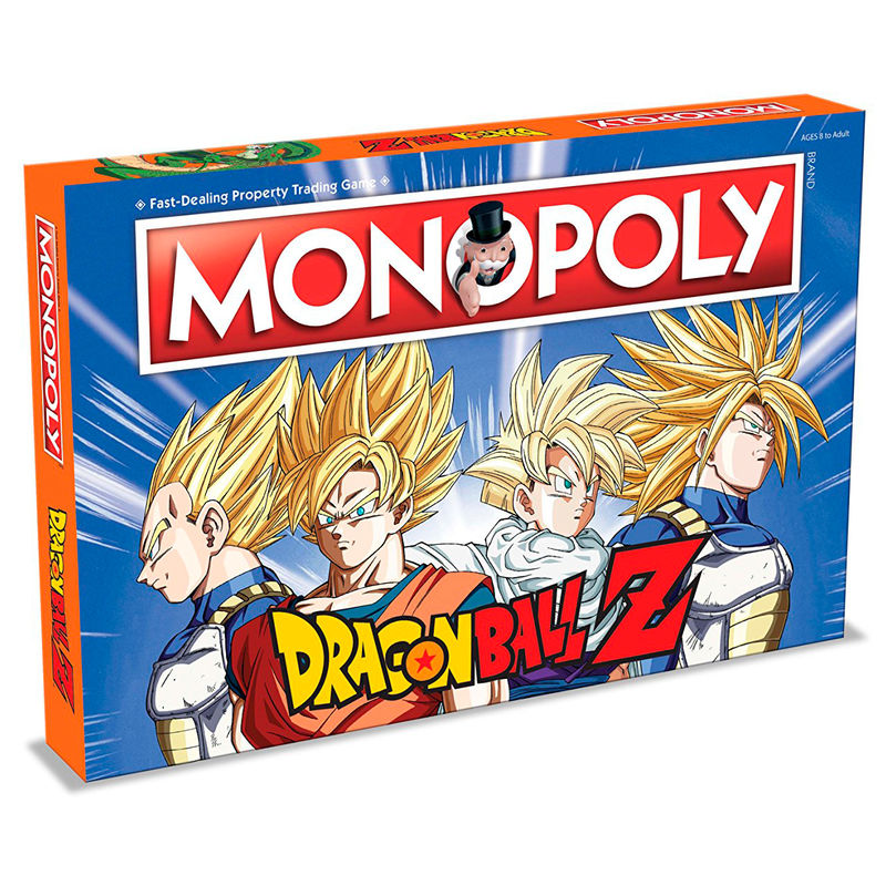 Juego de Mesa monopoly Dragon Ball Z