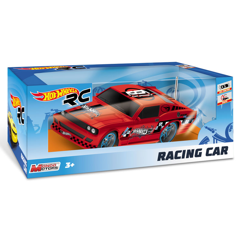 Coche Racing Car Hot Wheels radio control