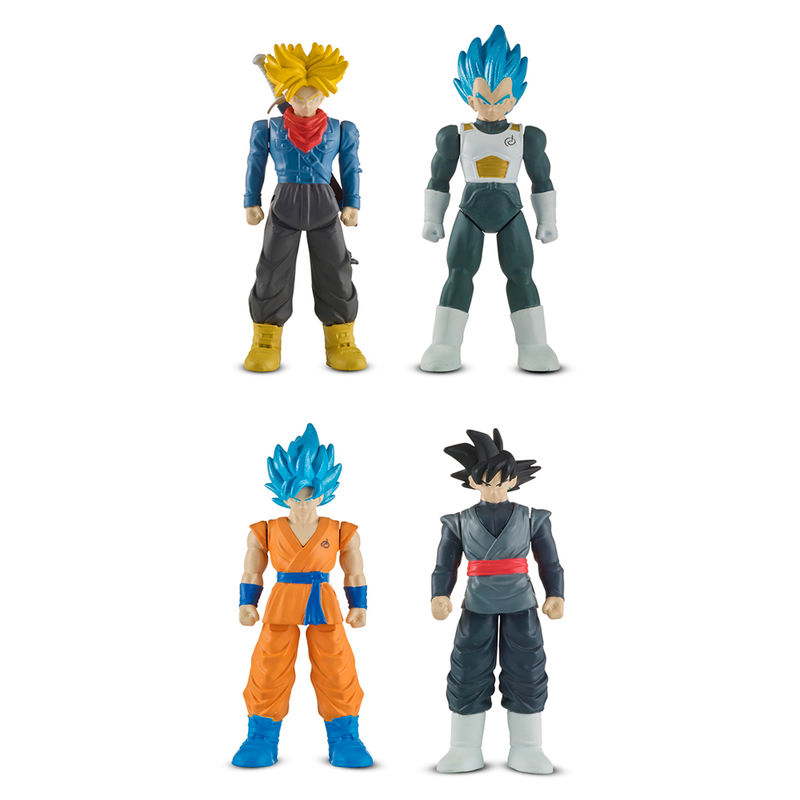 Blister 2 figuras de combate Dragon Ball Super surtido 3296580359431