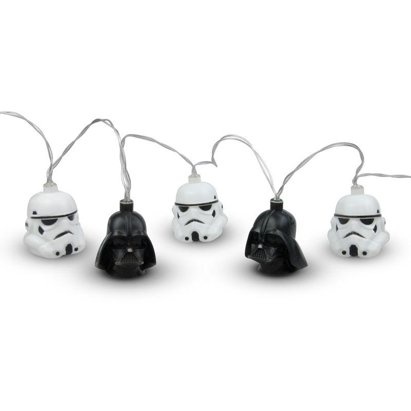 Luces 3D Darth Vader & Stormtrooper Star Wars