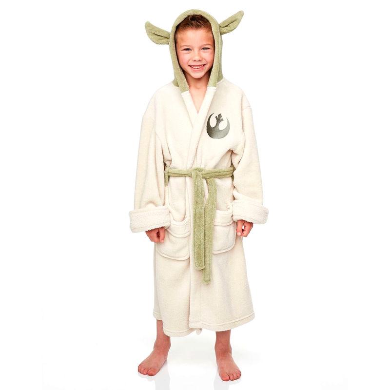 Albornoz Yoda Star Wars infantil