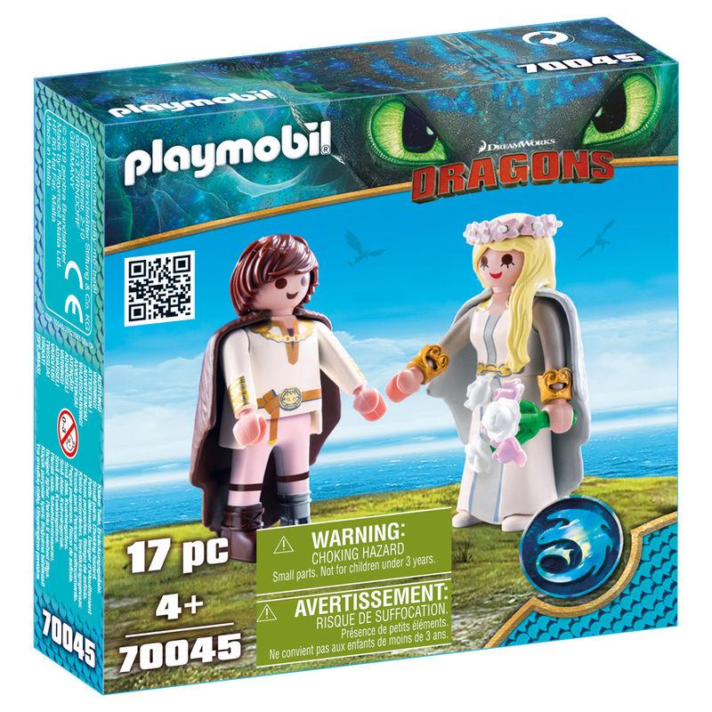 Set de Juego Boda Hipo y Astrid Playmobil