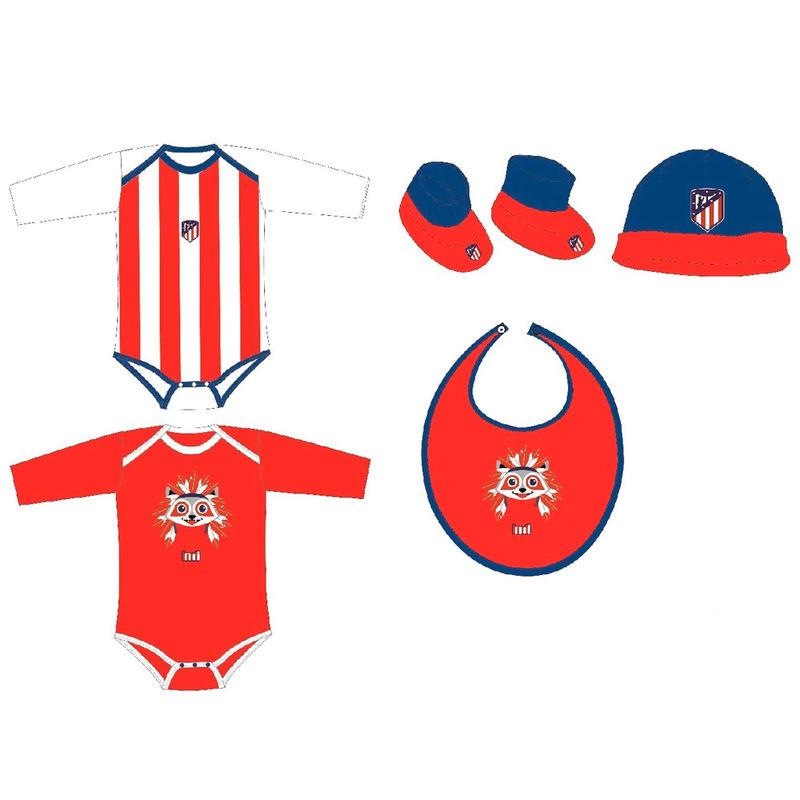 Set regalo bebe Atletico Madrid