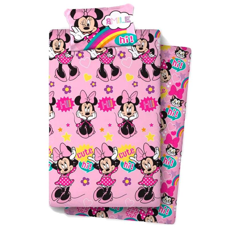Juego sabanas Minnie Disney cama 105cm