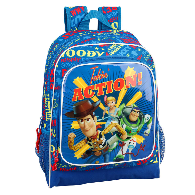Mochila Toy Story 4 Action adaptable 42cm