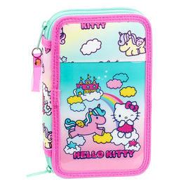 Plumier Hello Kitty Candy Unicorn doble
