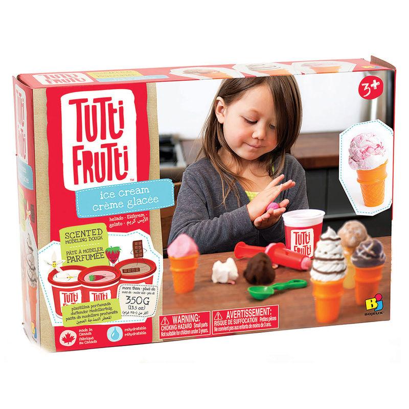 Set plastilina helados Tutti Frutti